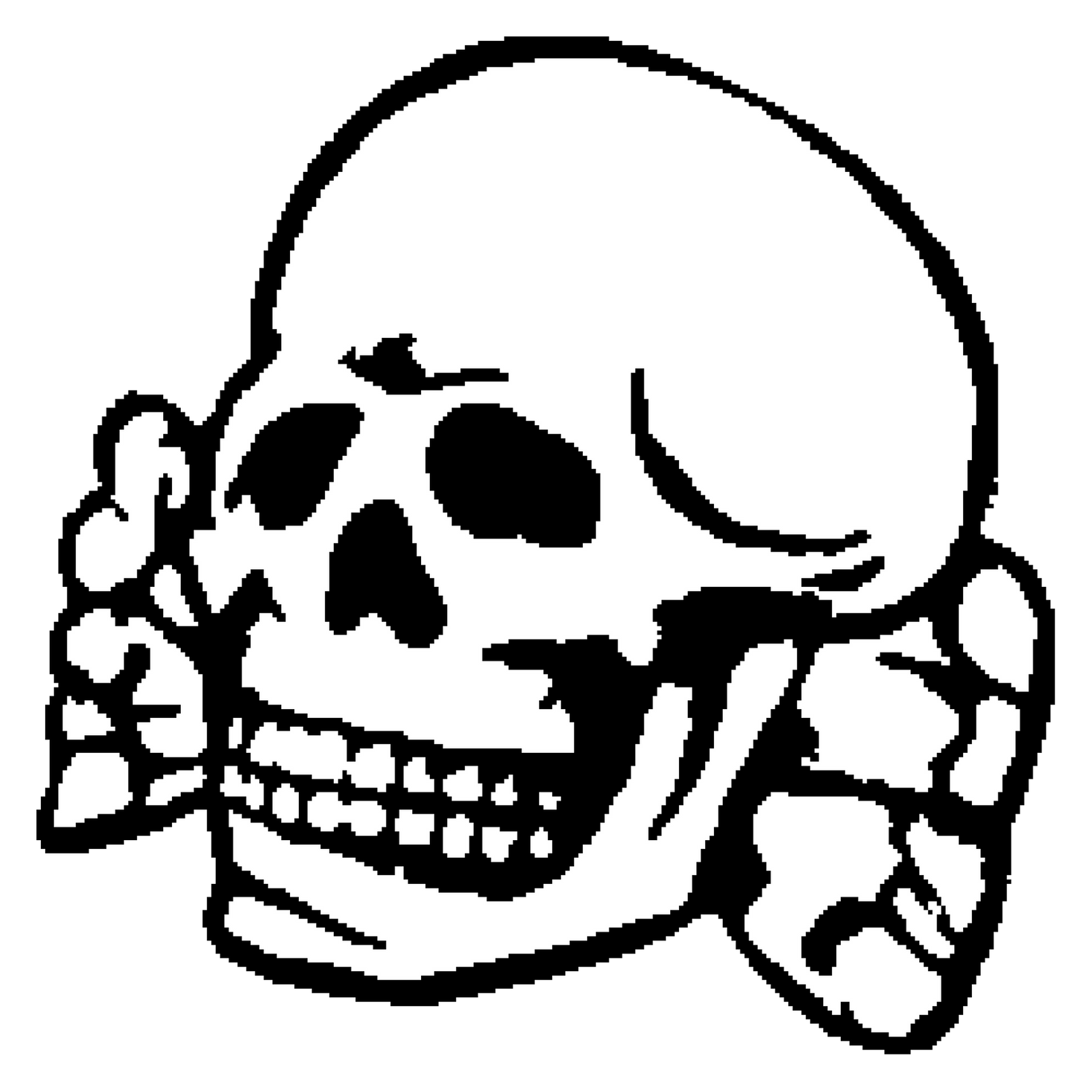 VECTOR 8bit SS Totenkopf 432571159 furthermore Pizza Black And White as well Collection also ment Dessiner Une Citrouille together with Oh Algebra 2 273834499. on scary cartoon of