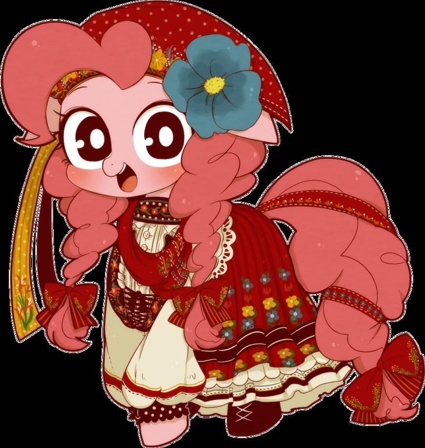RENDER - Festive Pinkie Pie by Jailboticus on DeviantArt