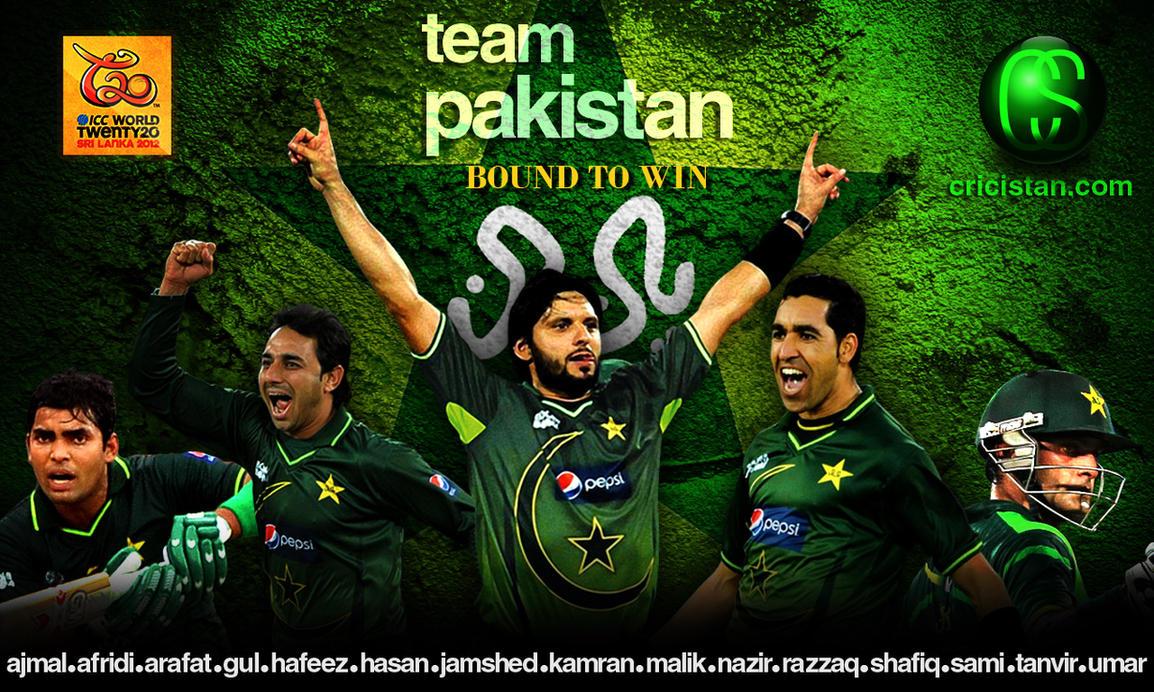 Pakistan Cricket Team Wallpaper 2012 T20 World Cup By Uzzie01