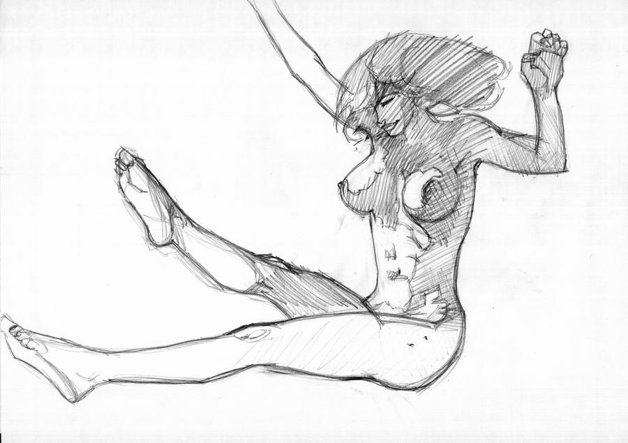 hero nudity and sketches