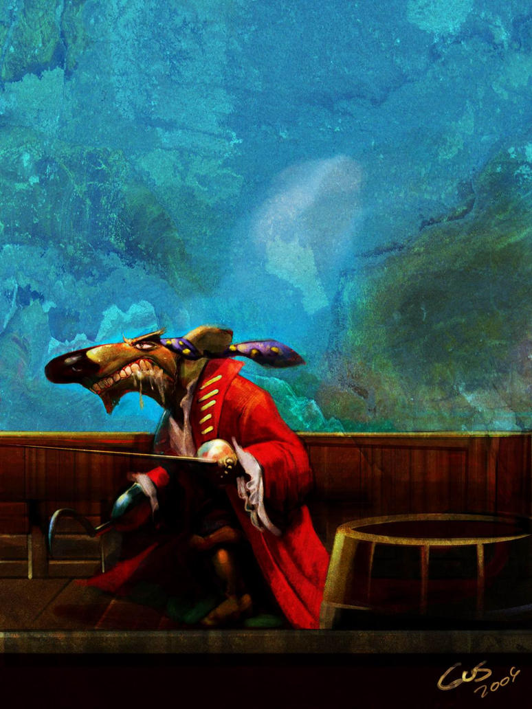 Rata Pirata by gustavodesimone