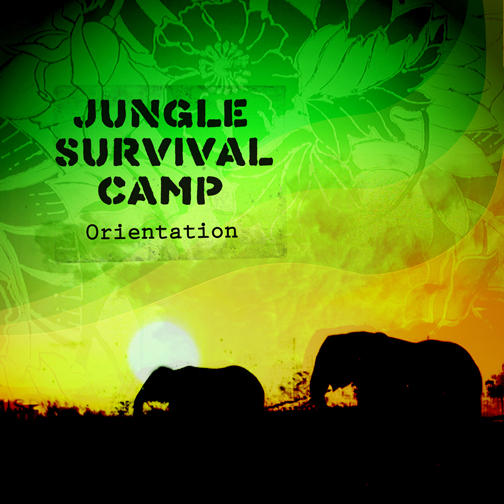 Jungle Survival Camp Cover WIP by ~Kayleah on deviantART