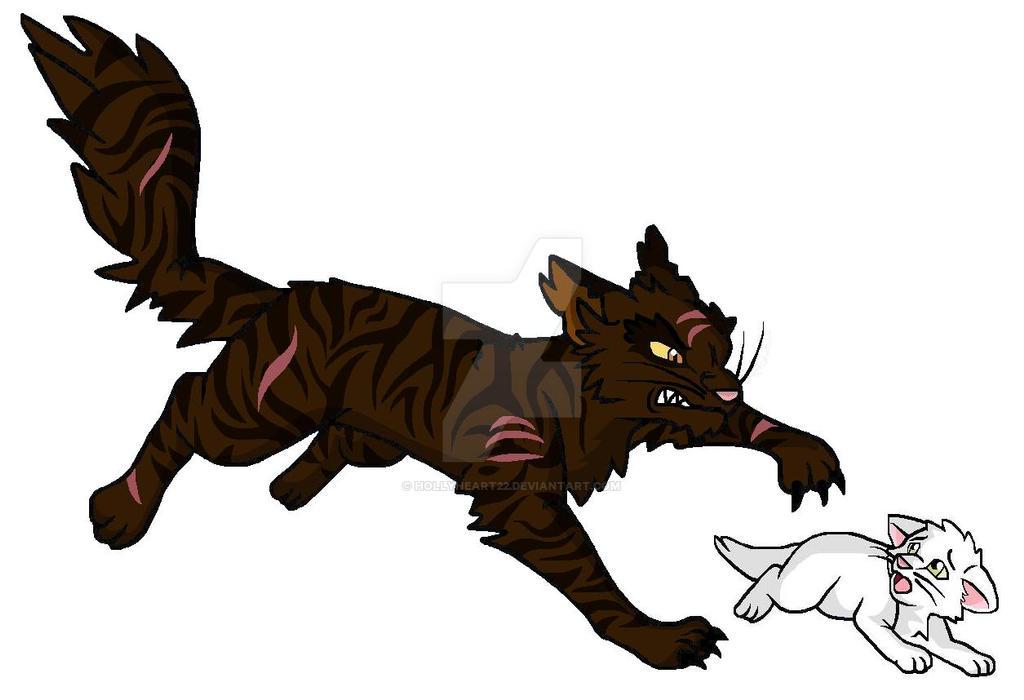 Warrior Cats Blossomkit Warriors Brokenstar and