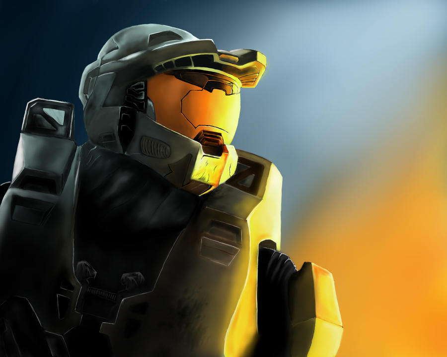 Master Chief by Callthistragedy1