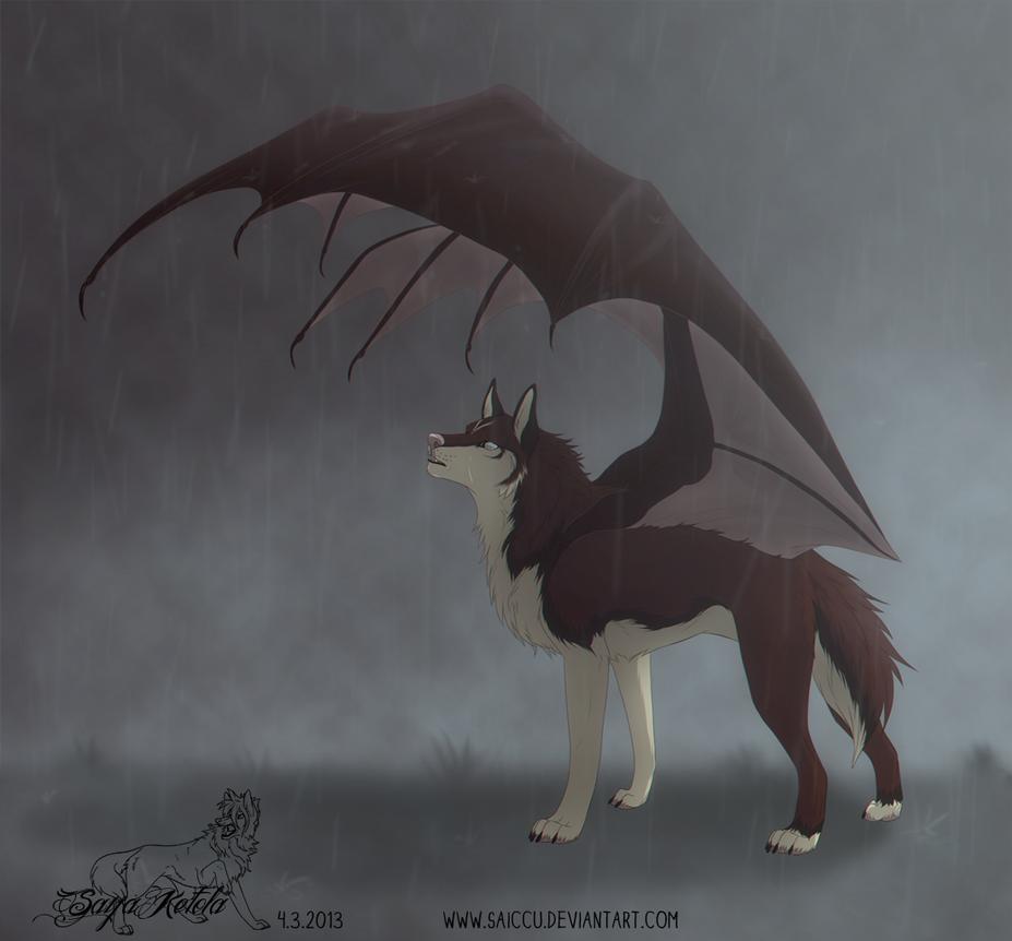 It's raining, but I'm not sad by Saiccu