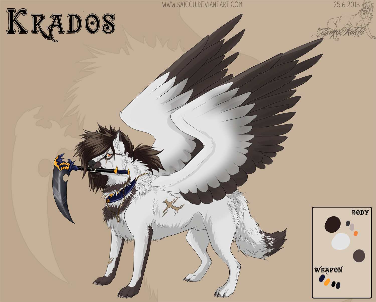Krados .:Reference sheet:. by Saiccu