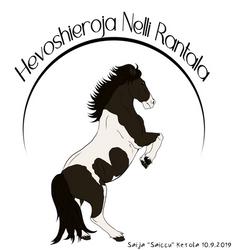 Logo commission Hevoshieroja Nelli Rantala