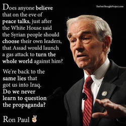 Ron Paul is right about Syria