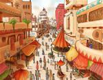 Main City Market Colored