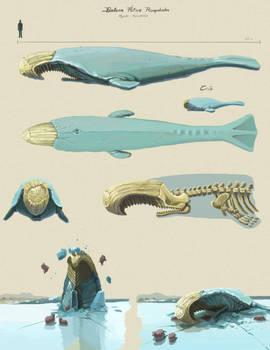 Arctic Icebreaker Whale