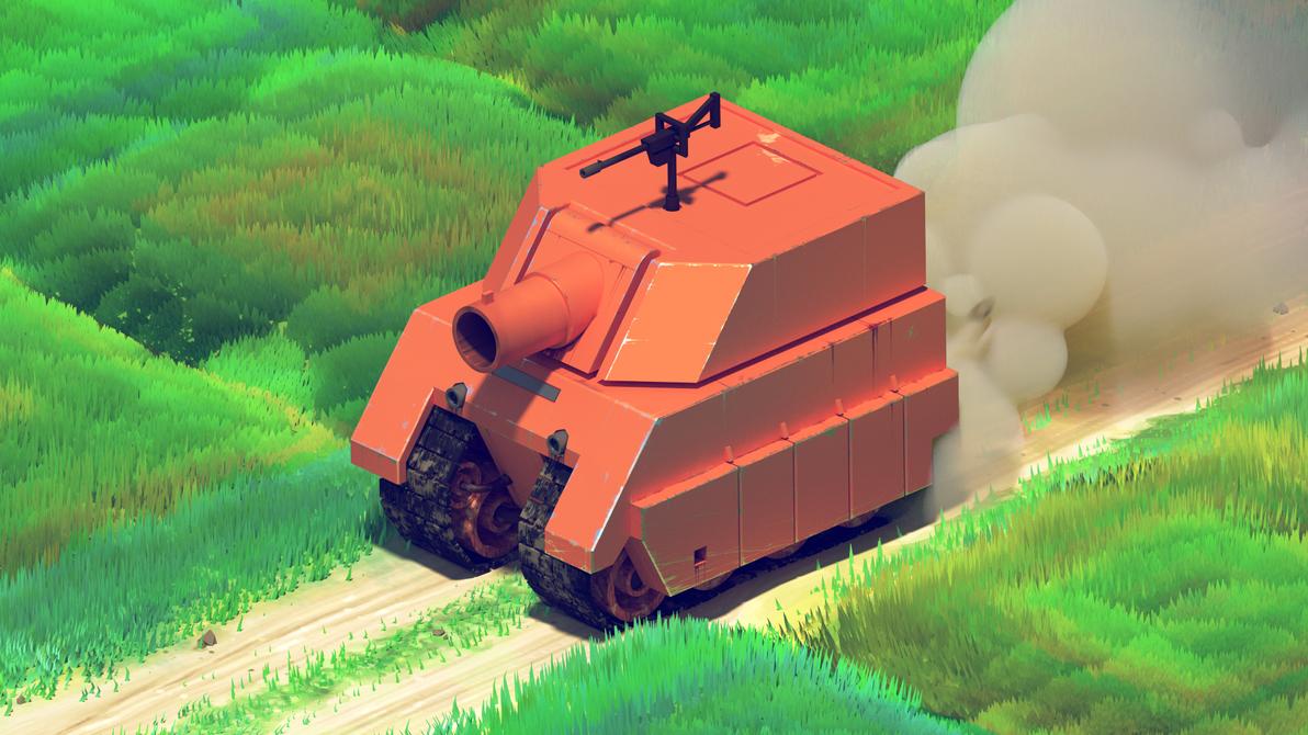 Medium Tank by Pablo-M