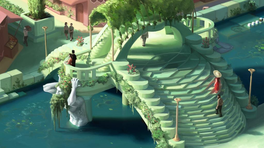 Mint Bridge by Pablo-M