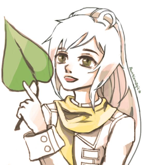Big leaf by auntiemagic