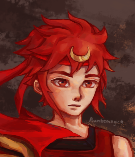 Red Warrior by auntiemagic