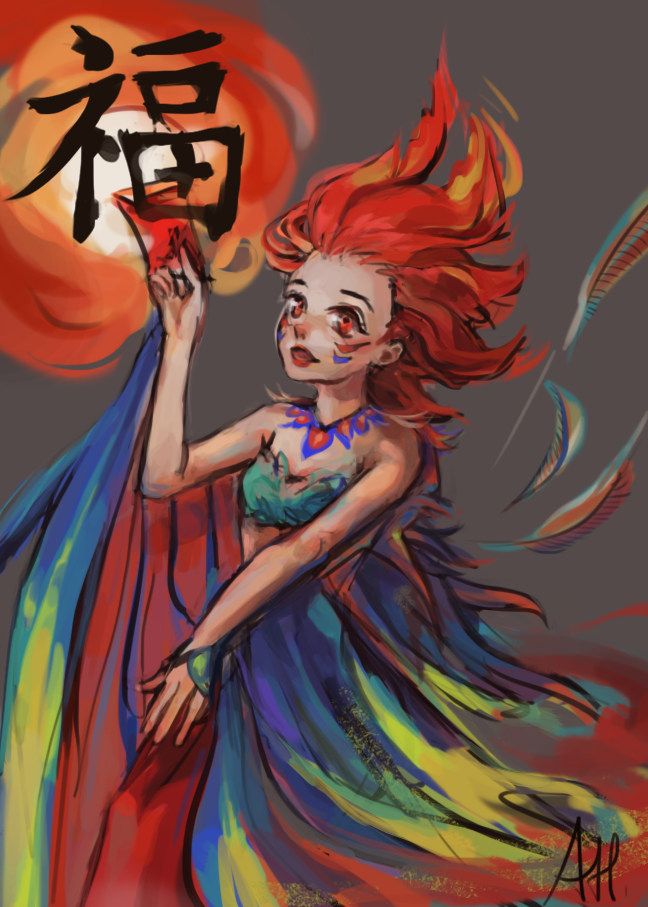 Year of the Rooster - 2017 by auntiemagic