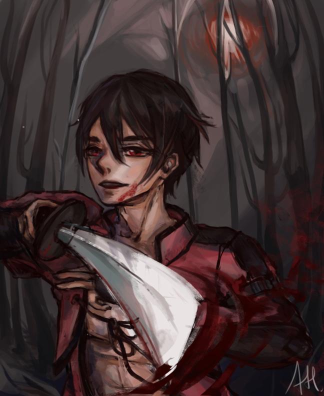 Dark Crimson by auntiemagic