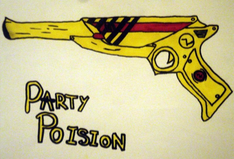 party poison gun - photo #4