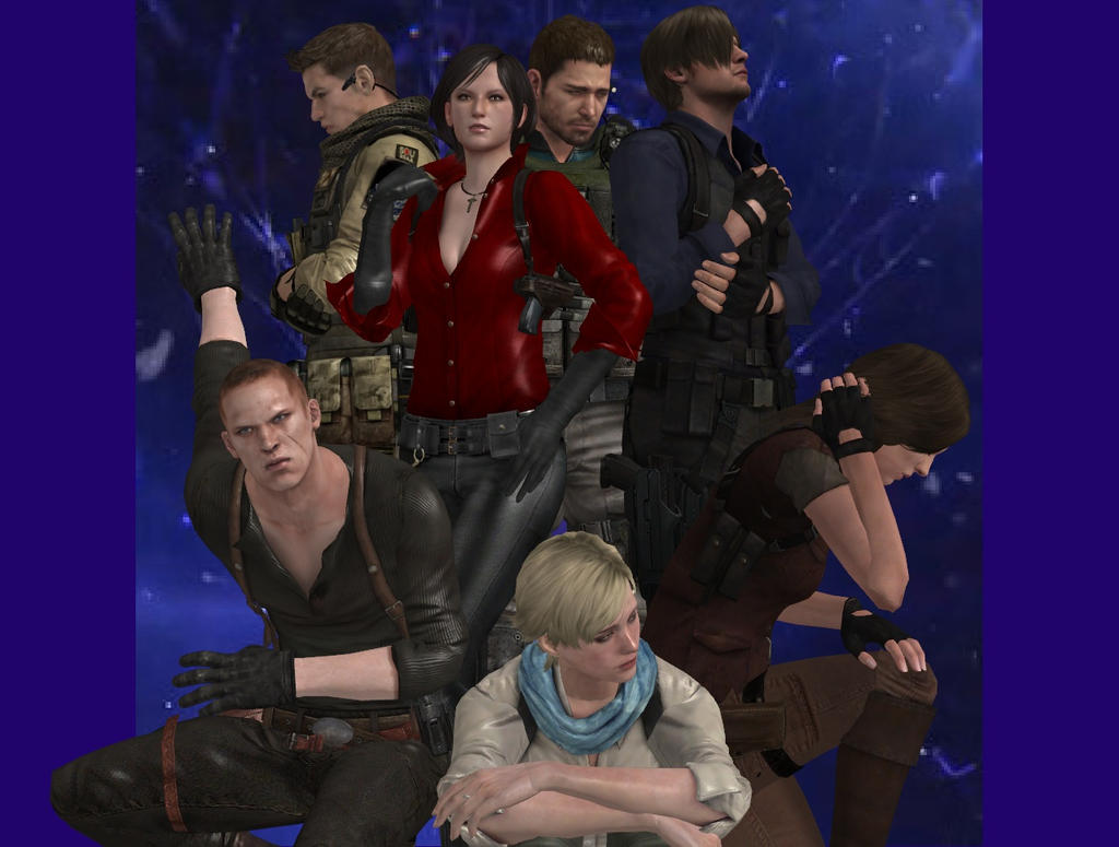 Resident Evil 6 Characters By Nirwashi On Deviantart