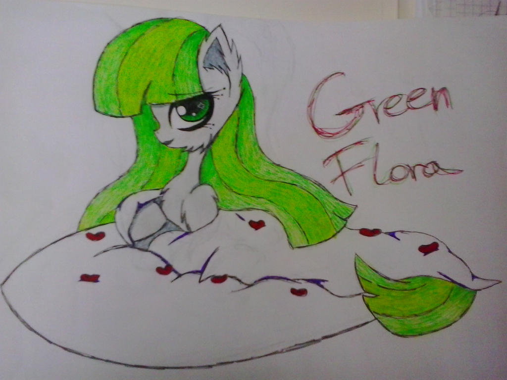 Green Flora by NastyNasti