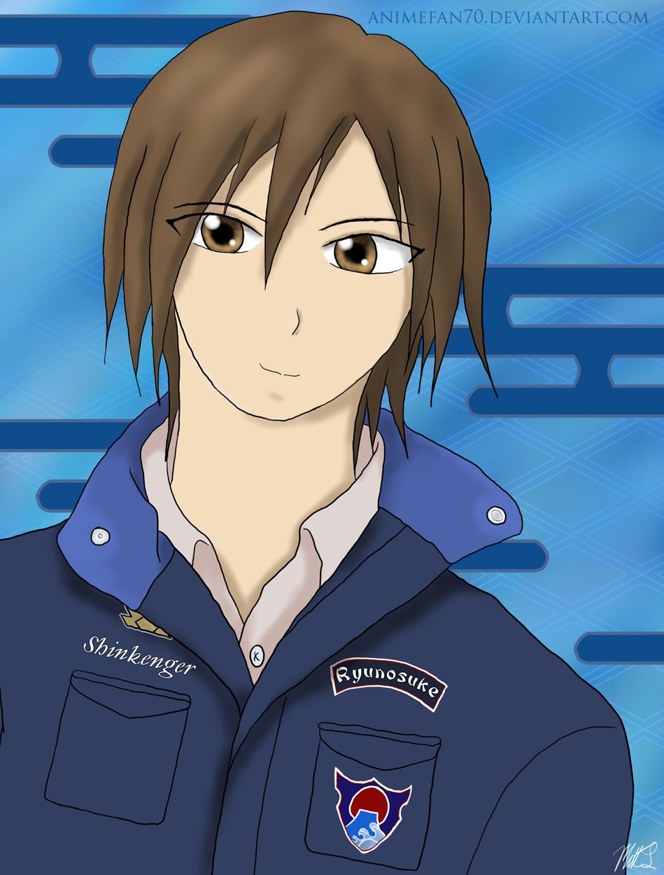 Ikenami Ryunosuke by CeruleanShadowRyunosuke Ikenami