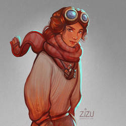 Kate Walker - Fanart of the Syberia Game