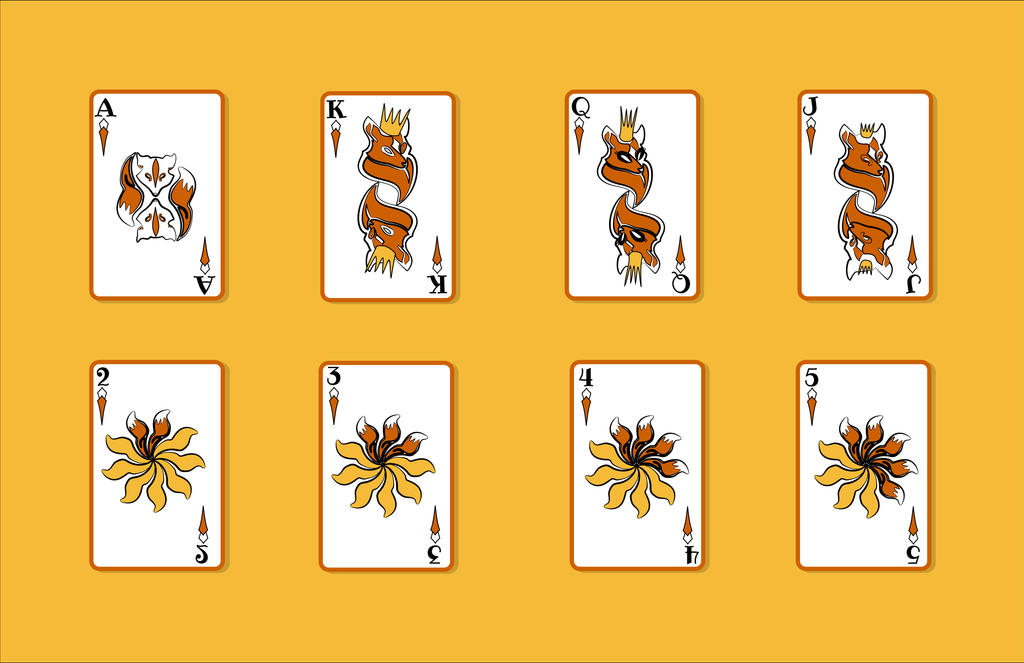 Fox Cards by TopplingDominoes