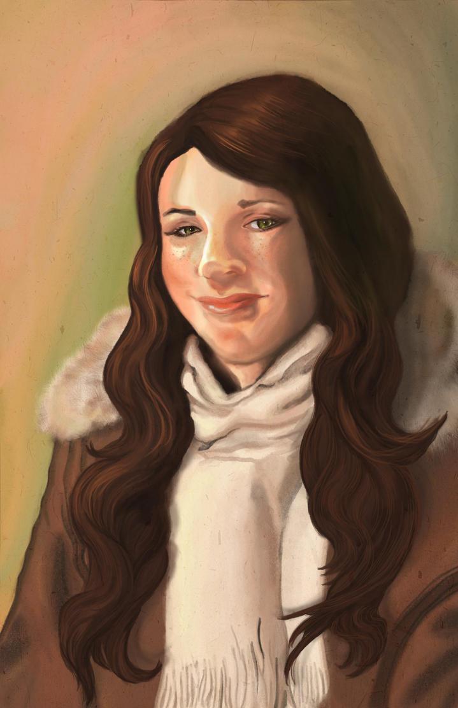 Digital Self Portrait 1 by TopplingDominoes