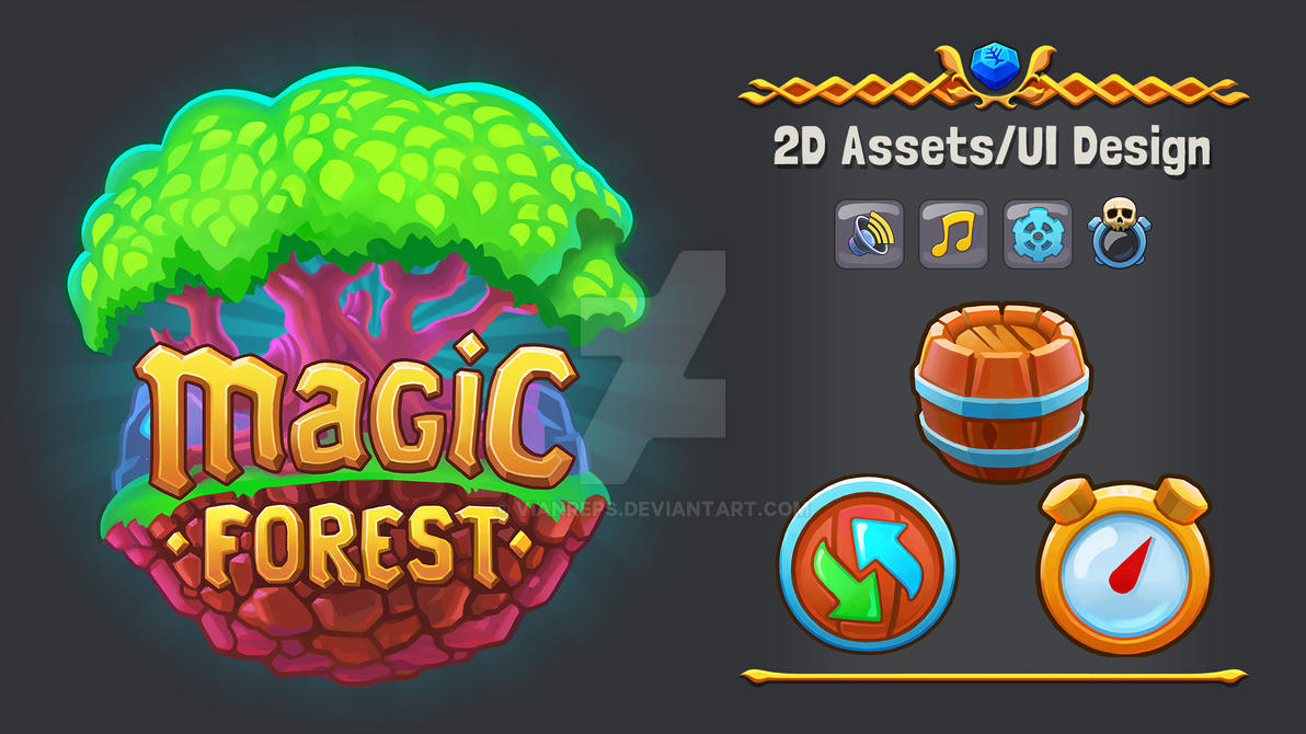 Magic Forest Work Ip by vianreps