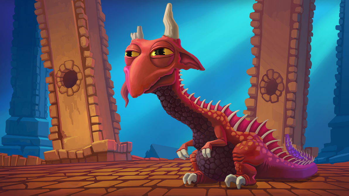 Jeff the Dragon by vianreps