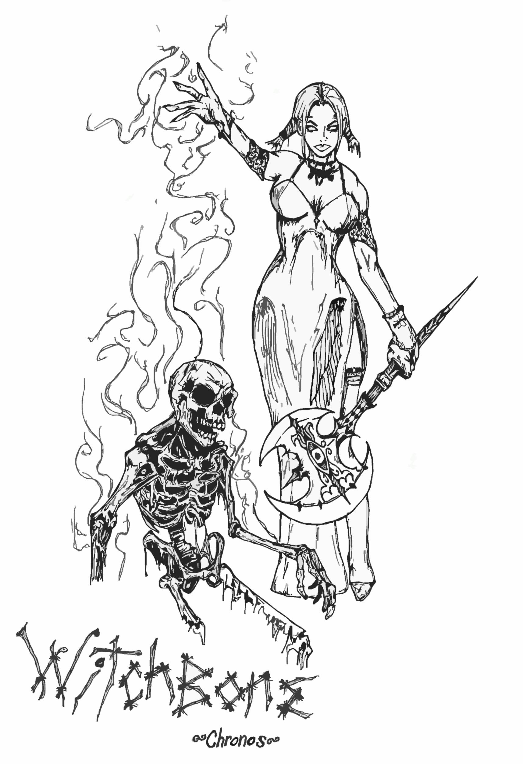 WitchBone by GrimZombie
