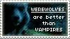 Werewolves over Vamps Stamp by Roxymmadog