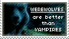 Werewolves over Vamps Stamp