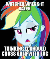 Rainbow Dash Meme Attempt