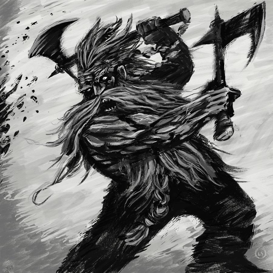Berserker Rage By HappytoDraw On DeviantArt