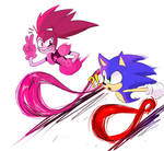Spinel And Sonic Is Running