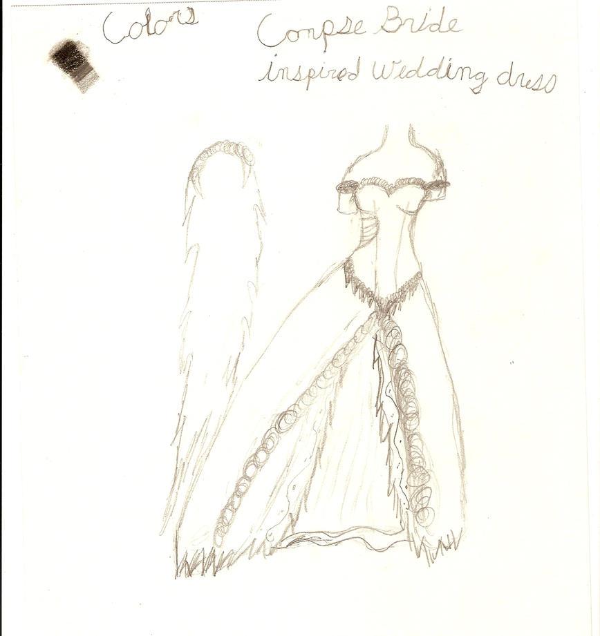 Emily and Victor Corpse bride corpse bride wedding dress Corpse Bride by MllAyuko