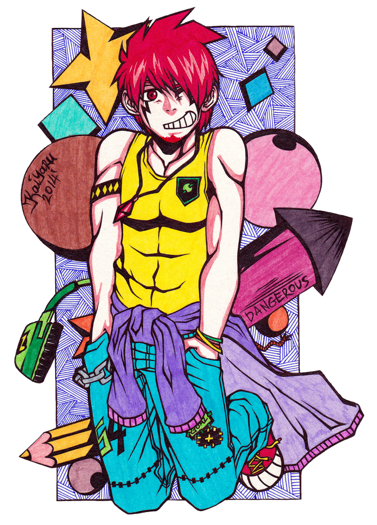 The Redhead I by Kaiyaru