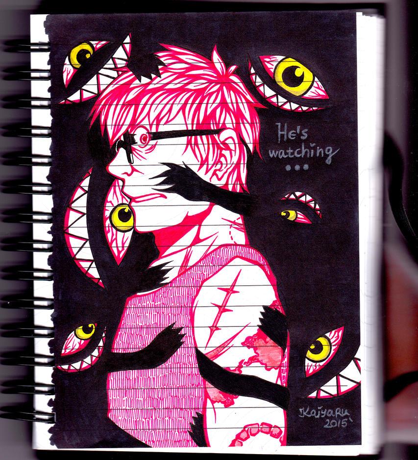 He's Watching You by Kaiyaru