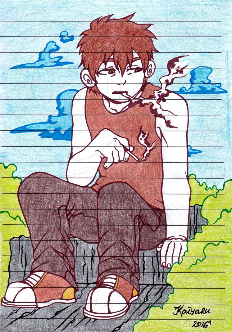 Smoke by Kaiyaru
