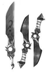 Oriental Sword and dagger - Concept