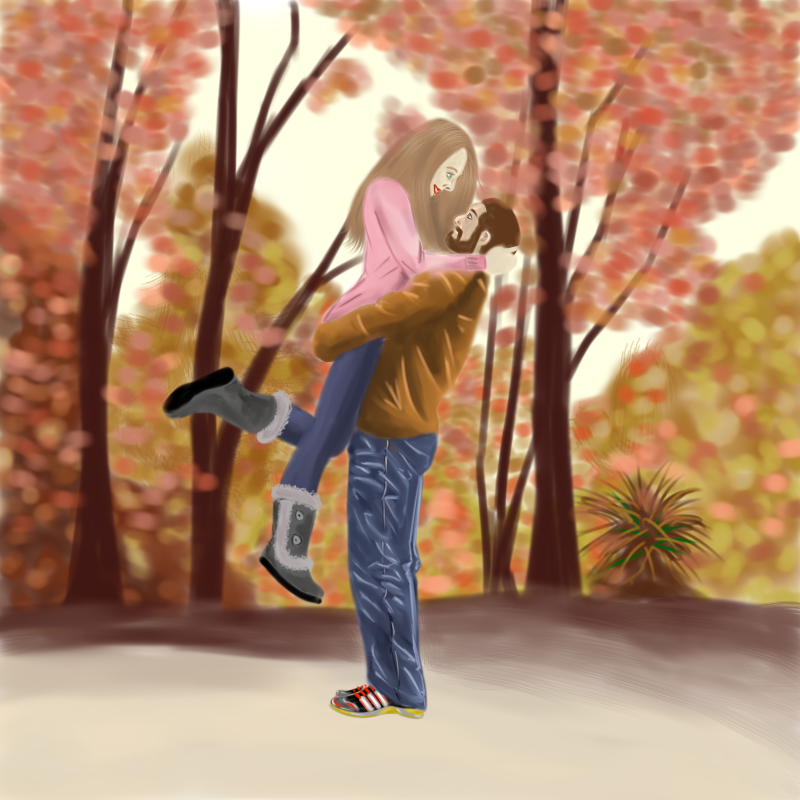 Fall hugs by Nicolaas-G