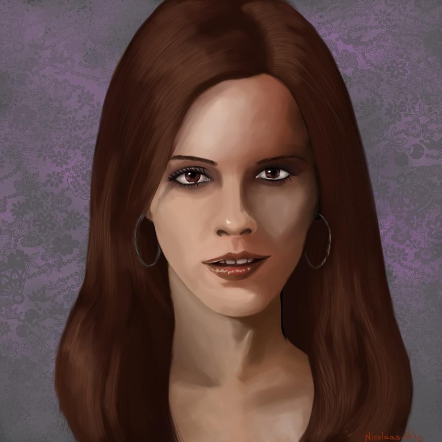 Emma Watson by Nicolaas-G