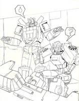Polaris and Wheeljack by beamer