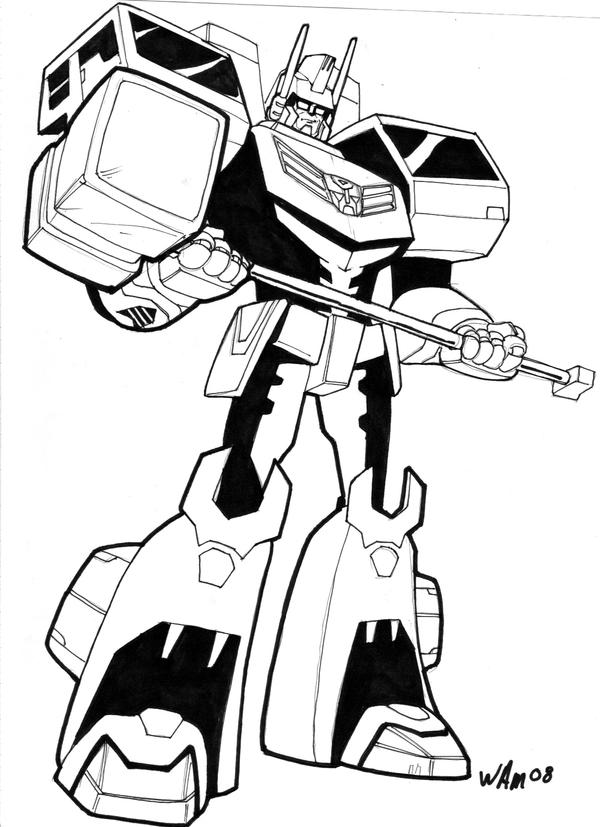 Animated ultra magnus by beamer on deviantart for Transformers g1 coloring pages