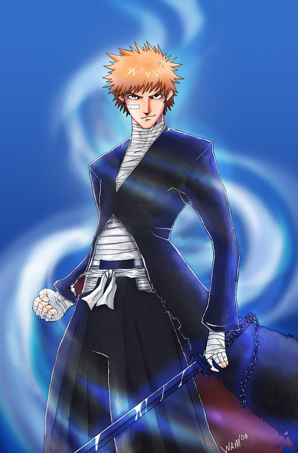 ichigo's bankai by beamer on DeviantArt