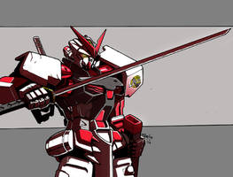 MBF-P02 Astray Red Frame