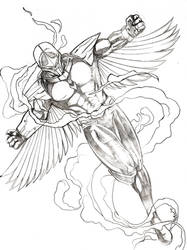 New Darkhawk by WillMangin