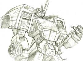 Drift sketch by beamer
