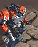 grand convoy colored by beamer