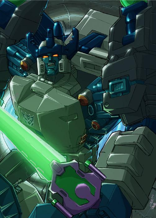 transformers: energon megatron by beamer
